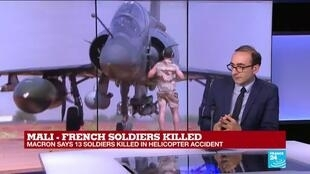2019-11-26 11:01 Thirteen French soldiers killed in Mali helicopter accident