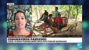 2020-10-01 16:10 Covid-19 risks pushing more girls into forced marriages