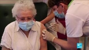 2021-01-11 15:03 Coronavirus pandemic: 50,000 doses of Moderna vaccine are available in France