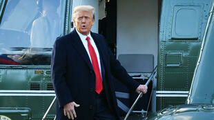 Donald Trump leaves the White House after his first-term defeat -- but he still holds sway over much of the Republican Party