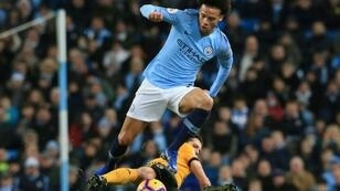 Manchester City's Leroy Sane has been set a Ryan Giggs target by boss Pep Guardiola