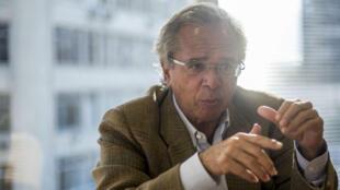 L'économiste Paulo Guedes est pressenti pour devenir le futur ministre brésilien des Finances, en cas de victoire de Jair Bolsonaro.