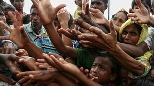 أكثر من 123 ألفا و600 شخص معظمهم من الروهينغا، فروا من أعمال العنف في بورما المستمرة منذ 25 آب/أغسطس للجوء في بنغلادش المجاورة