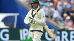 Dropped: Out of form batsman Usman Khawaja has not been awarded a new Australia contract