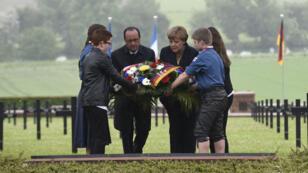 La France et l'Allemagne commémorent les cent ans de la sanglante bataille de Verdun.