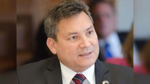 Le gouverneur de l'île de Guam, Eddie Calvo.