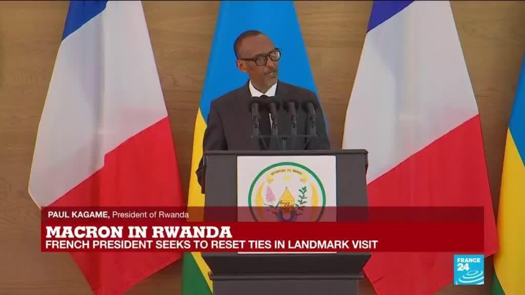 2021-05-27 12:56 REPLAY: Rwanda's Kagame says Macron speech 'more valuable than an apology'