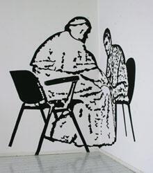 L'œuvre sur le pape Jean-Paul II et Ali Agça, censurée à Venise