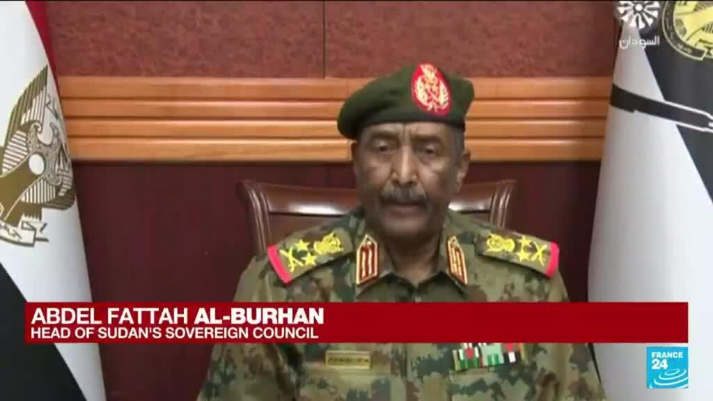 2021-10-25 13:01 Sudan military dissolves transitional government in apparent coup