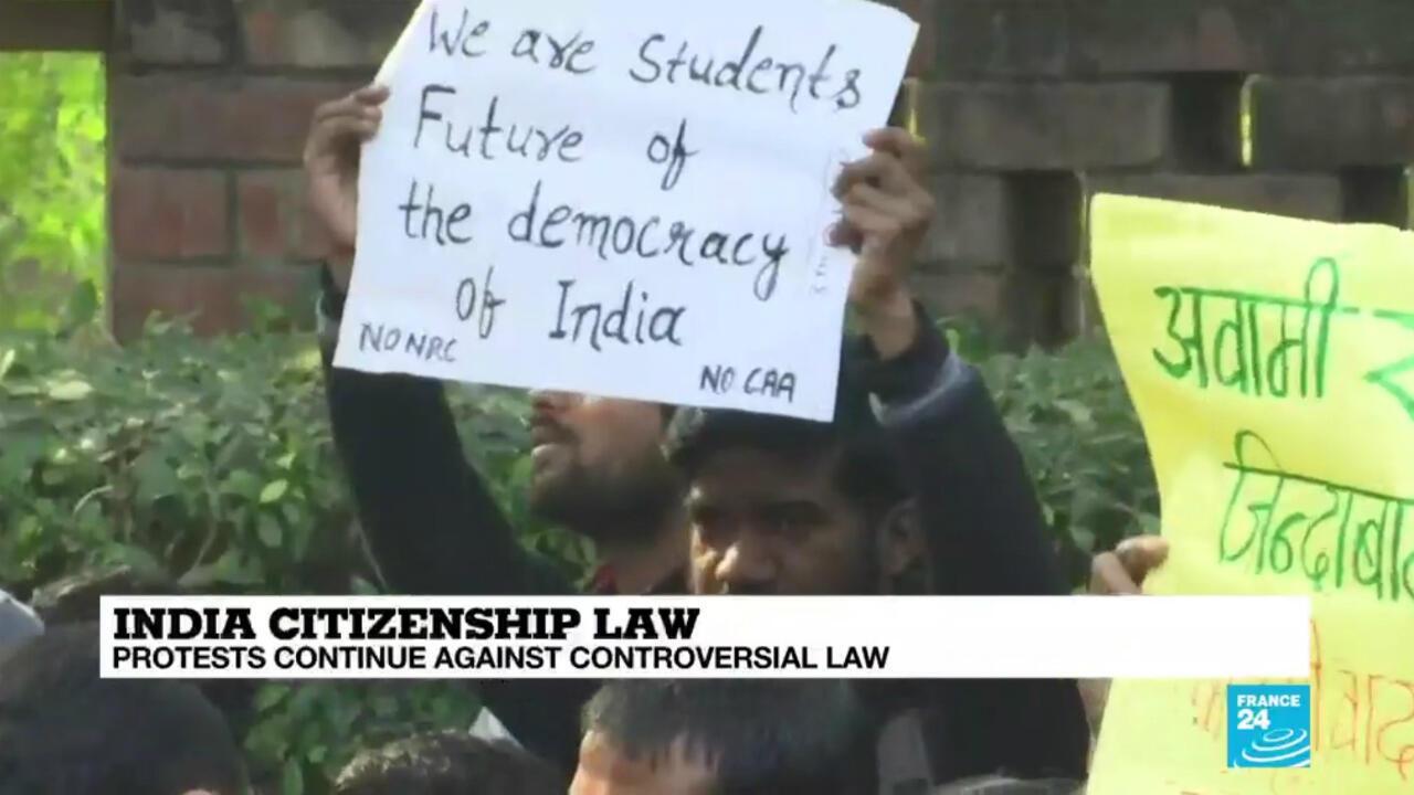 New Delhi Christmas Day protest