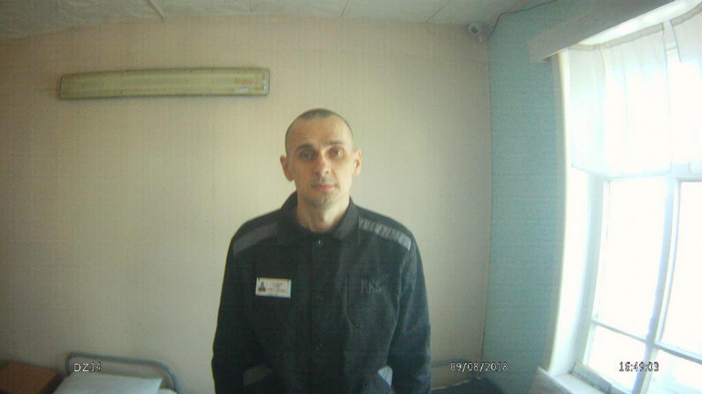 Une photo d'Oleg Sentsov diffusé par le haut commissariat russe pour les droits de l'Homme, le 9 août 2018.