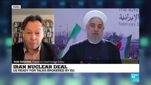 2021-02-19 11:01 Iran nuclear deal: US ready for talks brokered by EU