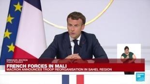 2021-06-10 18:08 France to announce Sahel troop cut