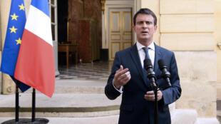Le Premier ministre Manuel Valls à Matignon le 30 juin 2016.