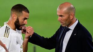 Zidane benzema