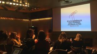 Les états généraux des femmes journalistes, le 13avril2019 à Paris.