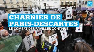 """Scandale du """"charnier"""" de Paris-Descartes : le combats des familles continue"""