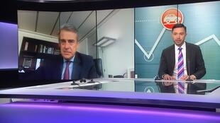 IATA's CEO Alexandre de Juniac speaking to FRANCE 24's Stephen Carroll on People & Profit.