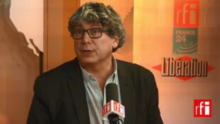 Eric Coquerel, secrétaire national du Parti de gauche et conseiller régional d'Île-de-France.