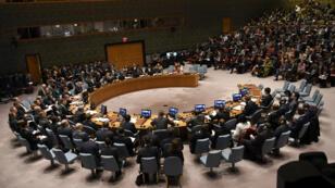 La France demande une réunion du Conseil de sécurité des Nations unies, ici rassemblé le 28 mars 2018.