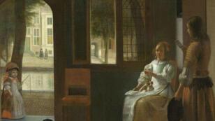 Tim Cook pense reconnaître un iPhone dans ce tableau de Pieter de Hooch.