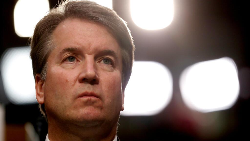 Imagen de archivo. El juez Brett Kavanaugh, nominado por la Corte Suprema de EE. UU., escucha durante su audiencia de confirmación del Comité Judicial del Senado de los EE. UU. en el Capitolio, Washington, el 4 de septiembre de 2018.