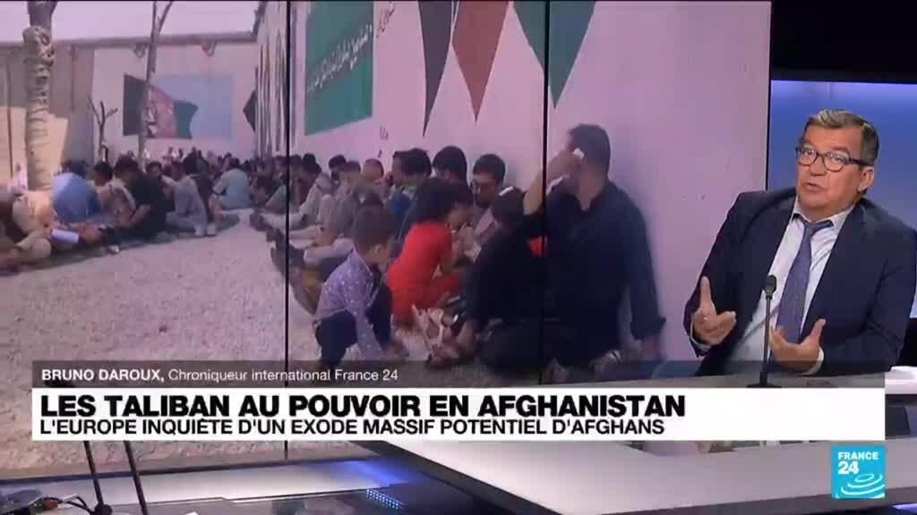 2021-08-18 13:02 Afghanistan : l'Europe inquiète d'un exode massif potentiel d'Afghans