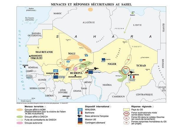 Menaces et réponses sécuritaires au Sahel