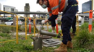 Turds in the suburbs: Aussie authorities are unrolling a vast programme of sewage testing this week in the hope of finding hidden clusters of the virus