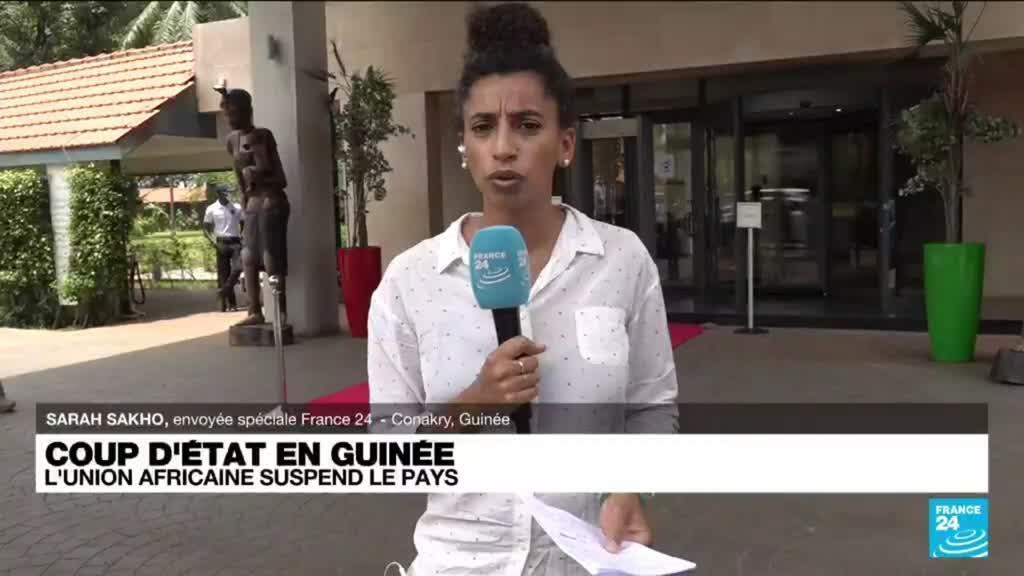 2021-09-10 15:04 Coup d'Etat en Guinée : l'Union africaine suspend le pays