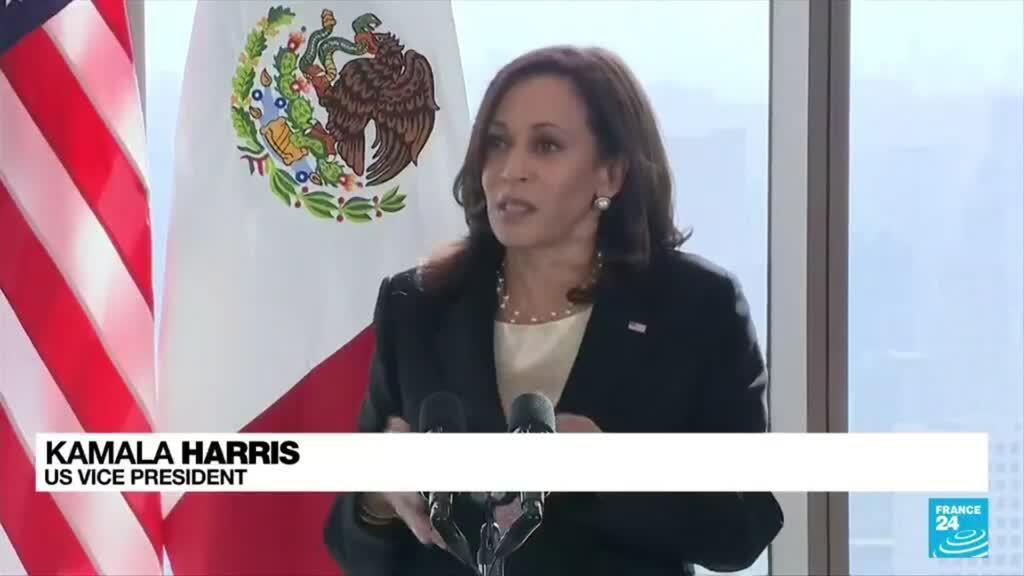 2021-06-09 08:08 US Vice President Harris pledges to visit US southern border