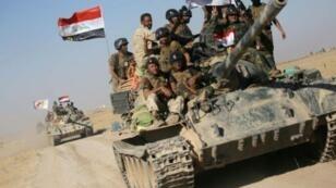 تقدم القوات العراقية في اتجاه تلعفر في العشرين من آب/اغسطس 2017