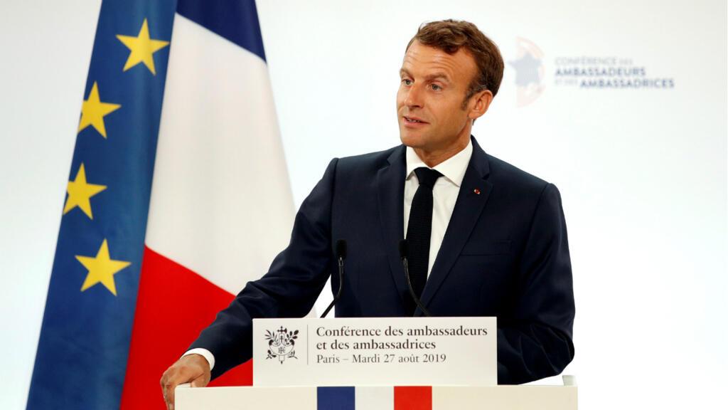 ماكرون يستعرض الخطوط العريضة للدبلوماسية الفرنسية أمام سفراء بلاده