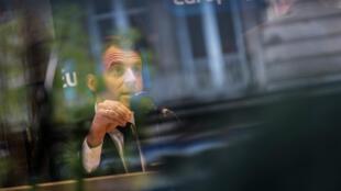 Emmanuel Macron à Rodez, le 5 mai 2017.