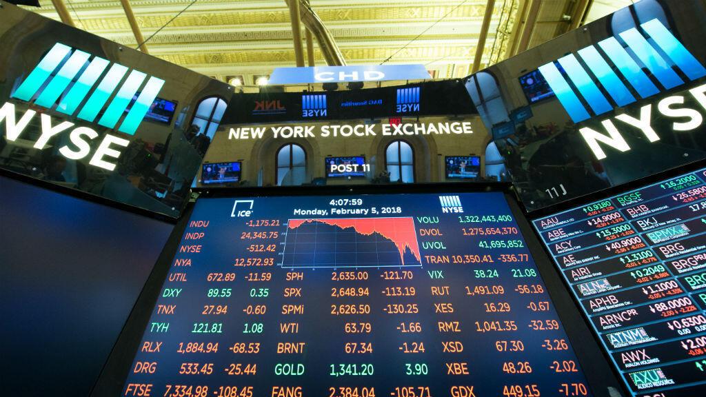 La baisse de l'indice bourier new-yorkais est la plus importante depuis 2011.