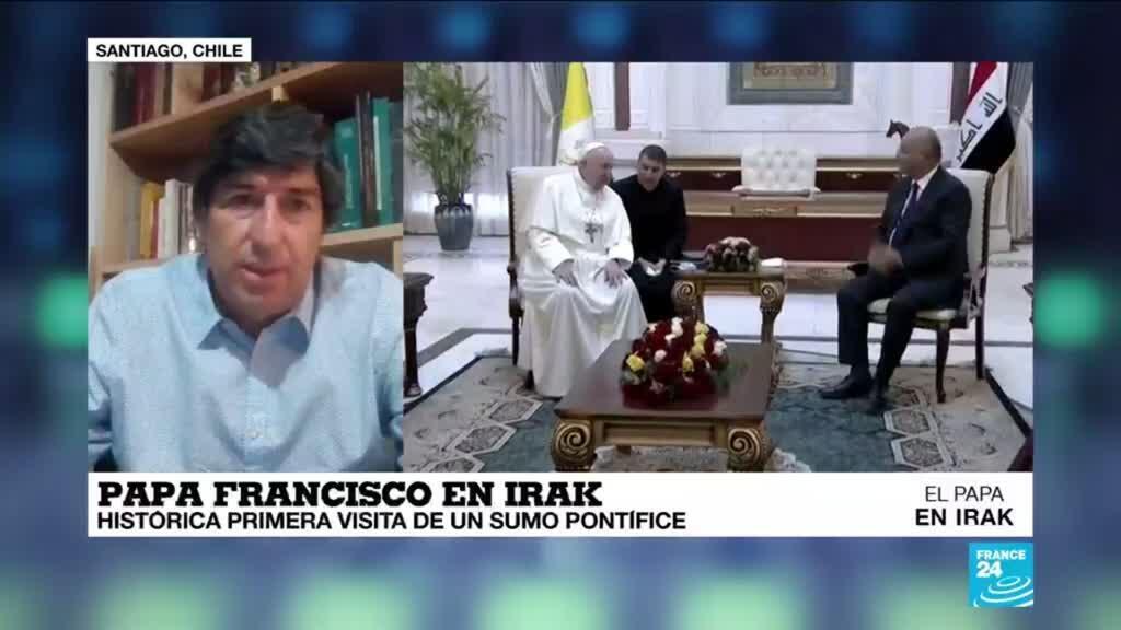 "2021-03-06 01:04 Marcial Sánchez: ""Francisco sigue sorprendiéndonos, el papa llegó a Irak"""