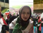 """السماح للإيرانيات بحضور مباراة كرة قدم: """"أصبح الحلم حقيقة"""""""