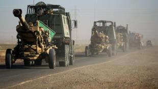 قتال عنيف بين قوات البشمركة الكردية والقوات العراقية في منطقة كركوك