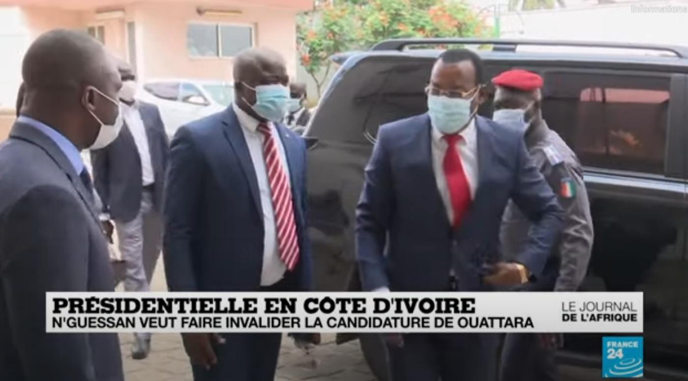Côte d'Ivoire : N'Guessan veut faire invalider la candidature de Ouattara