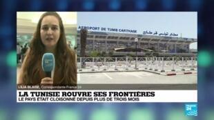 La Tunisie rouvre ses frontières.