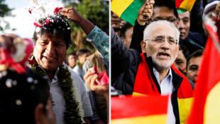 Evo Morales, líder de los resultados preliminares, se enfrentaría al expresidente Carlos Mesa en un balotaje.
