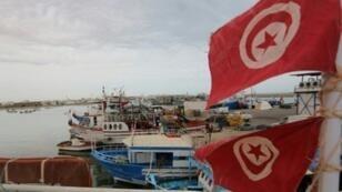 ميناء جرجيس في جنوب تونس في مايو/أيار 2019.