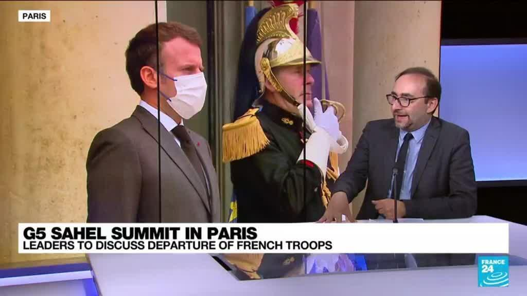 2021-07-09 13:39 G5 Sahel leaders discuss departure of French troops