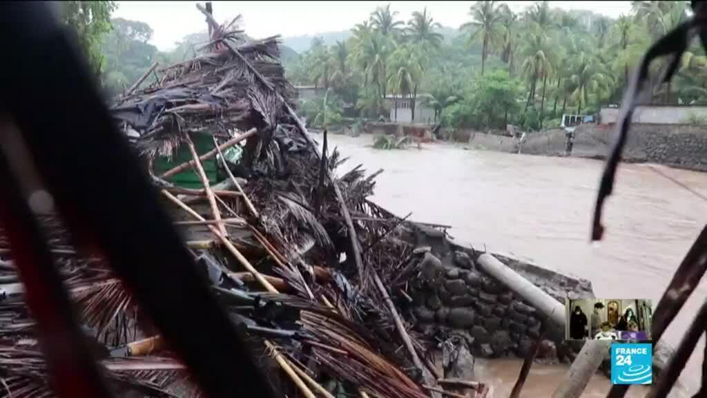 2020-06-02 15:55 Storm Amanda kills at least 20 in Central America before degrading and reaching Mexico