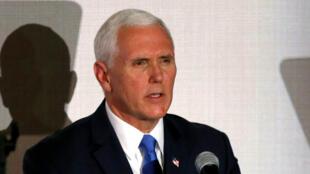 """Para el vicepredente de Estados Unidos, Mike Pence, """"los leales a Maduro se volvieron contra su propio pueblo""""."""
