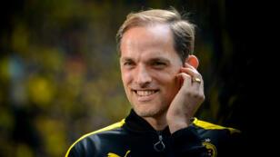 Thomas Tuchel en mars 2017 au Borussia Dortmund.