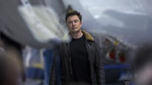 Elon Musk le 17septembre2018 à Hawthorne, Californie.