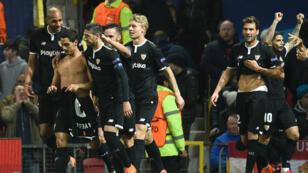 Très belle soirée pour le FC Séville, qui s'est offert Manchester United.