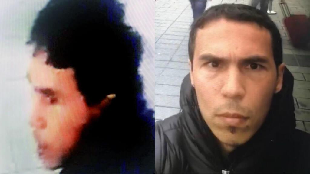 نشرت الشرطة التركية صورا للمشتبه به الرئيسي في اعتداء إسطنبول