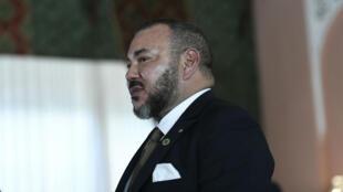 Le roi Mohammed VI, le 15 novembre 2016, à Marrakech, au Maroc.